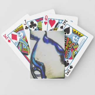 When Art Become Invention a Spaceship of Intention Bicycle Playing Cards