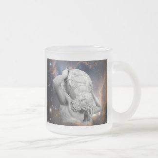 When Atlas Shirked Frosted Glass Coffee Mug