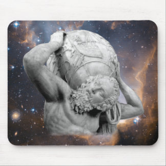 When Atlas Shirked Mouse Pad