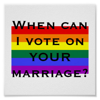 When can I vote on YOUR marriage? Print
