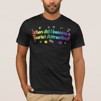 When Did I Become A Tourist Attraction? - Rainbow T-Shirt
