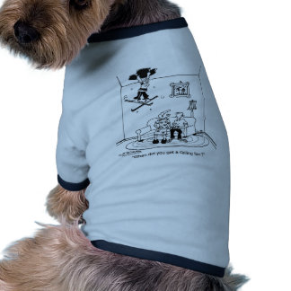 When Did You Get A Ceiling Fan Doggie Tee Shirt