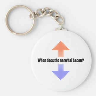 When Does the Narwhal Bacon Upvote Reddit Question Keychain