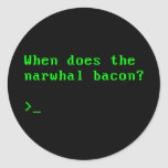 When Does the Narwhal Bacon VGA Reddit Question