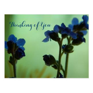 When Feeling Blue ... Postcard
