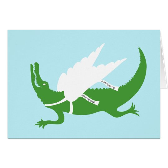 When Gators Fly...... Card