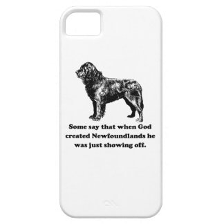 When God Created Newfoundlands Case For The iPhone 5