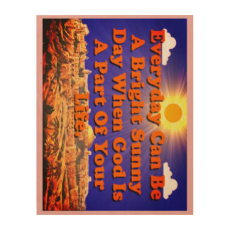 When God Is A Part Of Your Life, Life Is Better! Wood Wall Decor