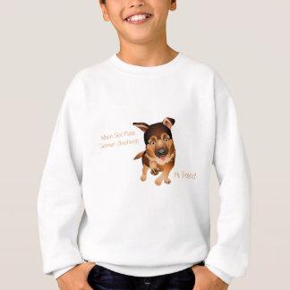 When God Made German Shepherds Sweatshirt