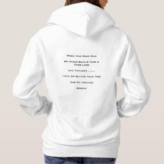 """""""When God Made Man"""" T-shirt"""