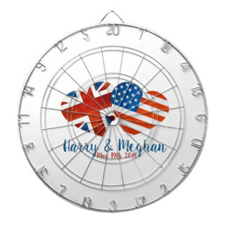 When Harry met Meghan Dartboard