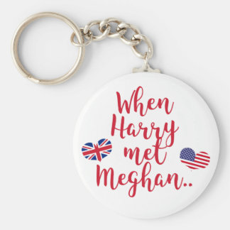 When Harry met Meghan | Fun Royal Wedding Key Ring