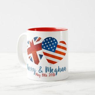 When Harry met Meghan Two-Tone Coffee Mug