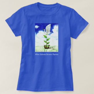 When Helmets Become Planters T-Shirt
