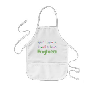When I Grow Up Engineer Aprons