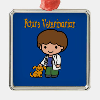 When I Grow Up Future Veterinarian Metal Ornament
