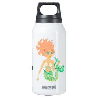 When I grow up I want to be a mermaid Insulated Water Bottle