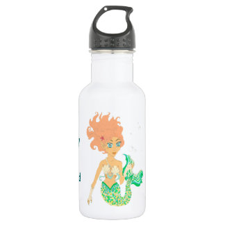 When I grow up I want to be a mermaid 18oz Water Bottle