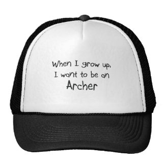 When I grow up I want to be an Archer Mesh Hat