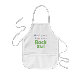 When I Grow Up Rock Star Apron