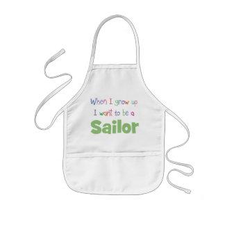 When I Grow Up Sailor Kids Apron