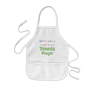When I Grow Up Tennis Player Apron