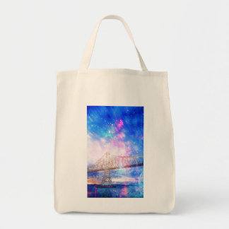 When I Look to the Sky Tote Bag