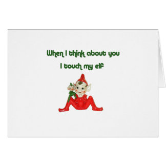 When I Think About You... Greeting Card