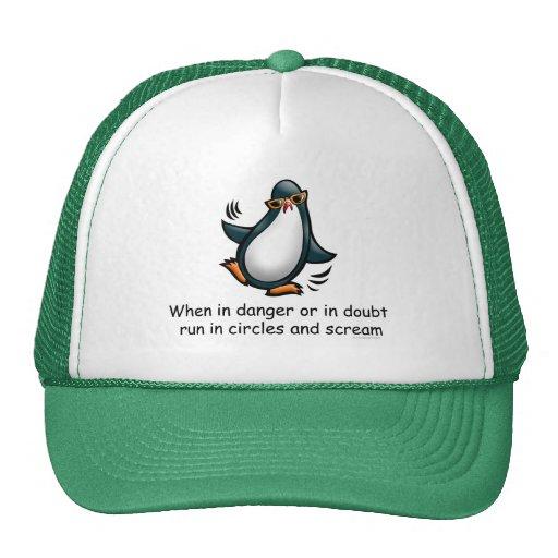 When in danger or in doubt hats