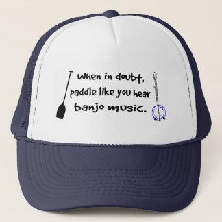 When In Doubt Trucker Hat