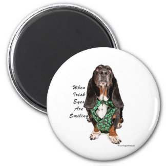 When Irish Eyes are Smiling 6 Cm Round Magnet