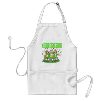 When Irish Eyes Are Smiling Adult Apron