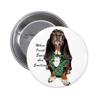 When Irish Eyes are Smiling Pinback Buttons