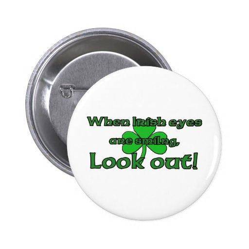 When Irish Eyes Are Smiling Pin