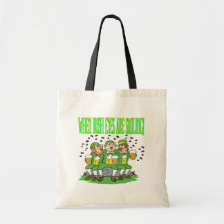 When Irish Eyes Are Smiling Canvas Bags
