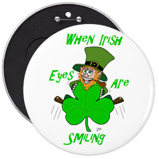 When Irish Eyes are Smiling Button