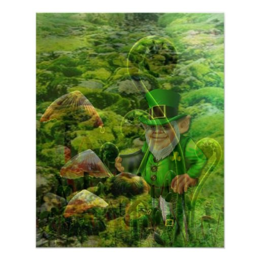 When Irish Eyes Are Smiling by Janiece Senn Posters