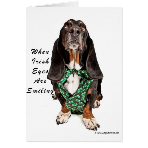 When Irish Eyes are Smiling Card