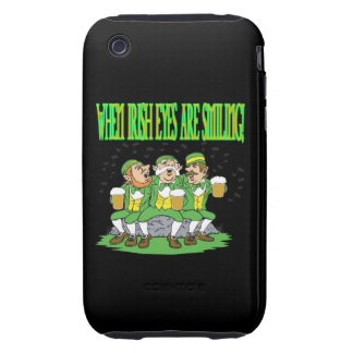 When Irish Eyes Are Smiling Tough iPhone 3 Covers