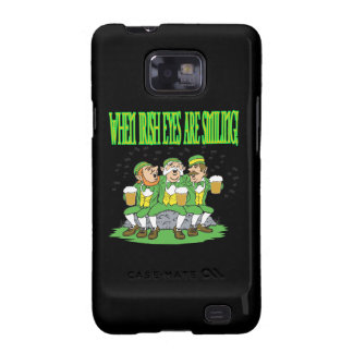 When Irish Eyes Are Smiling Samsung Galaxy S2 Covers