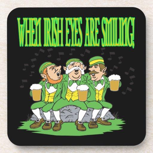 When Irish Eyes Are Smiling Coasters