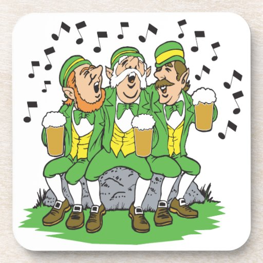 When Irish Eyes Are Smiling Drink Coasters