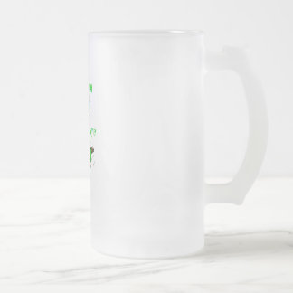 When Irish Eyes are Smiling Frosted Glass Mug
