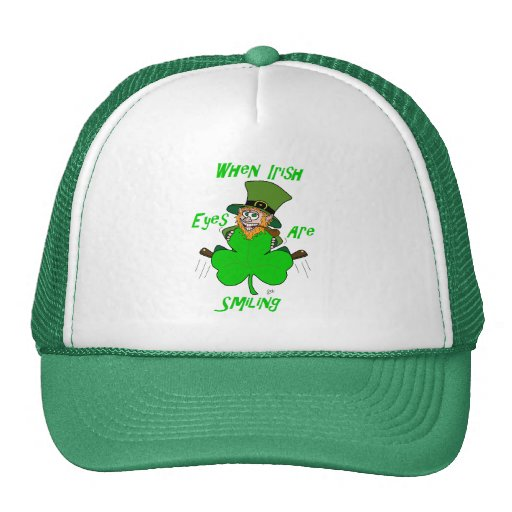 When Irish Eyes are Smiling Hats