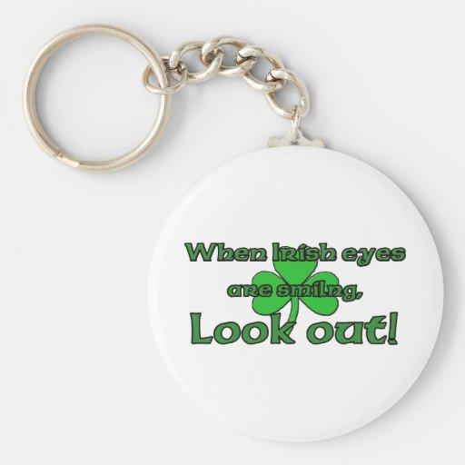 When Irish Eyes Are Smiling Key Chain