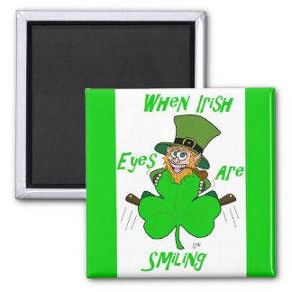 When Irish Eyes are Smiling Fridge Magnets