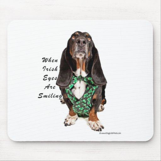 When Irish Eyes are Smiling Mouse Pad