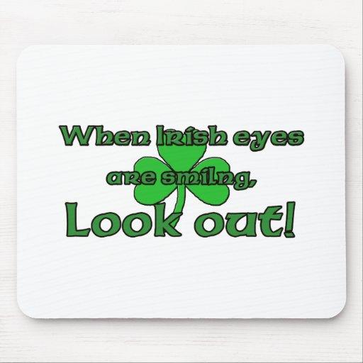 When Irish Eyes Are Smiling Mousepads