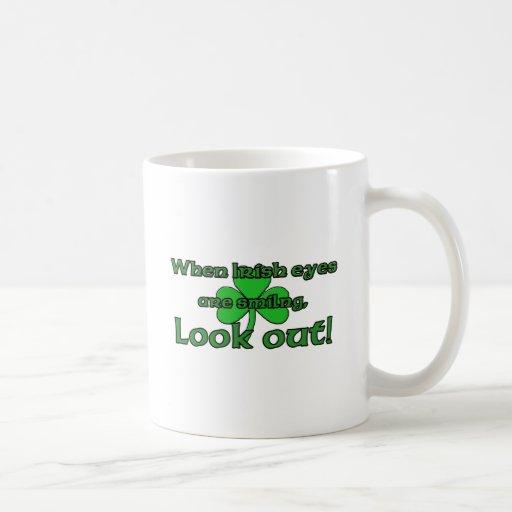When Irish Eyes Are Smiling Coffee Mugs