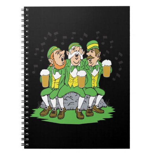 When Irish Eyes Are Smiling Spiral Note Books